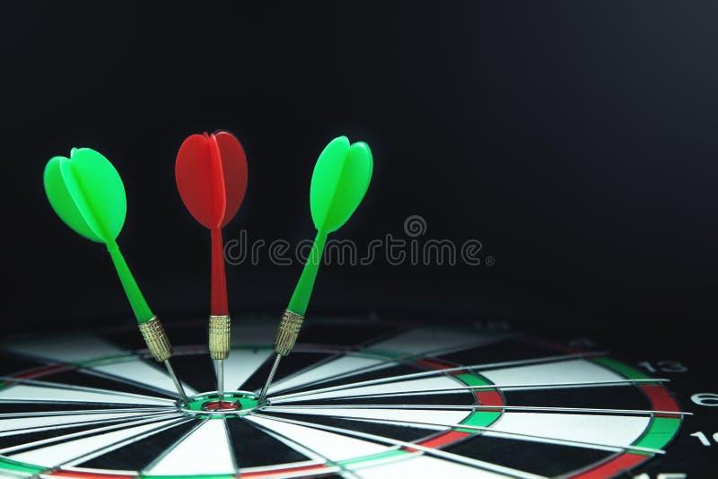 Cible avec des flèches Vente, cible, concept de succès image libre de droits
