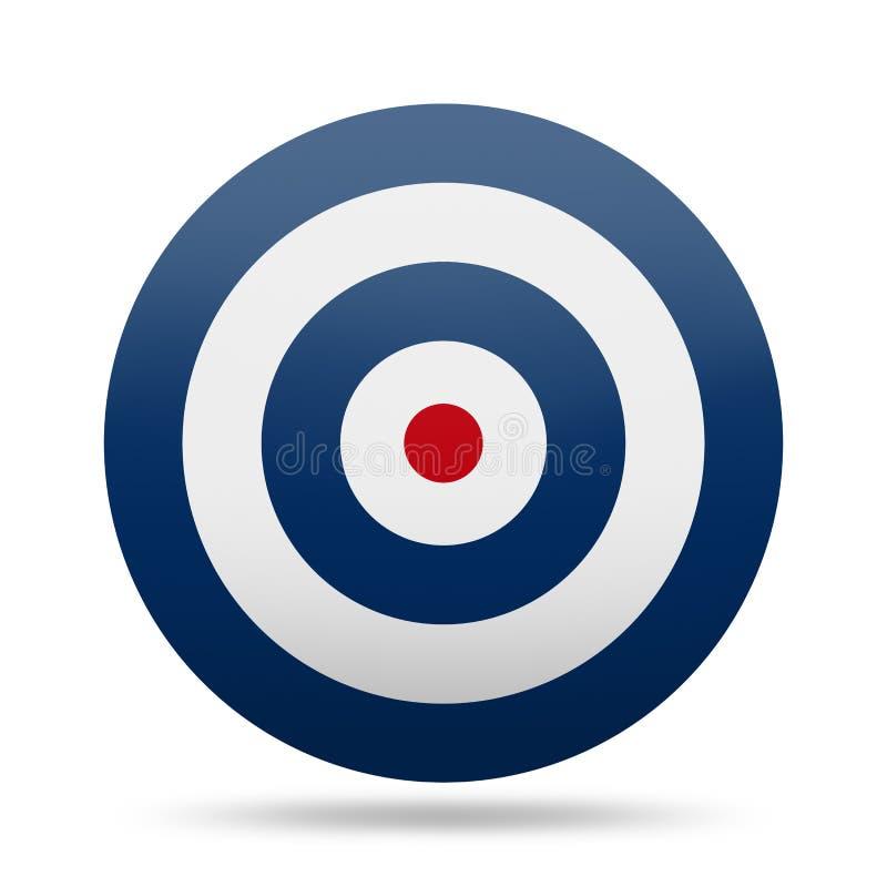 Cible de cercle image libre de droits