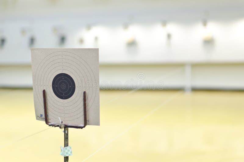 Cible du tir de canon image libre de droits