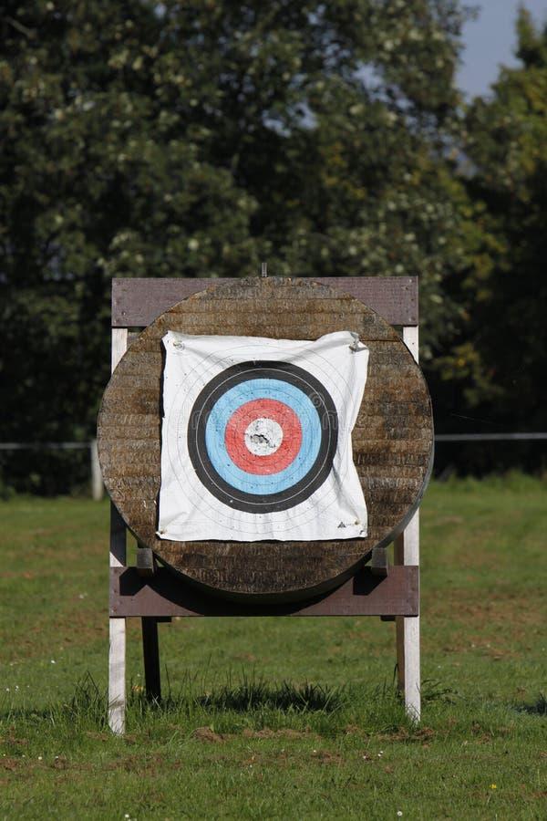 Cibles pour le tir à l'arc photos stock