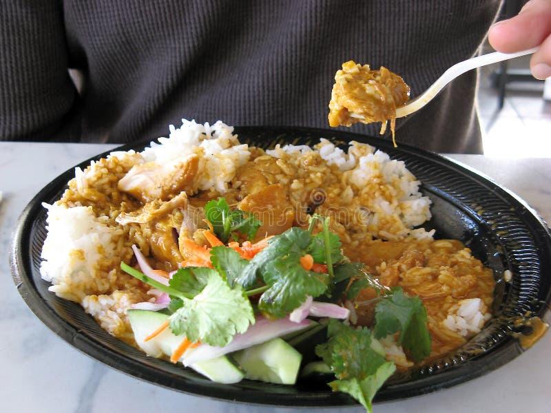 Cibo dell'alimento tailandese fotografia stock libera da diritti