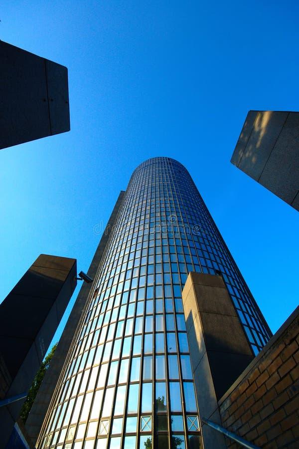 Cibona-Turm, Zagreb, Kroatien stockfotografie