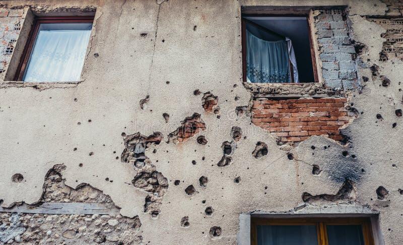 Cicatrices de guerre photos stock