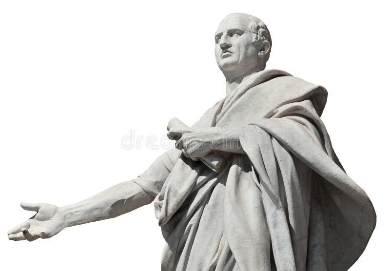 Cicero forntida roman senator arkivbilder
