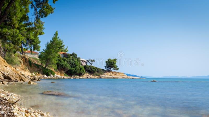 cicho, morze zdjęcie royalty free