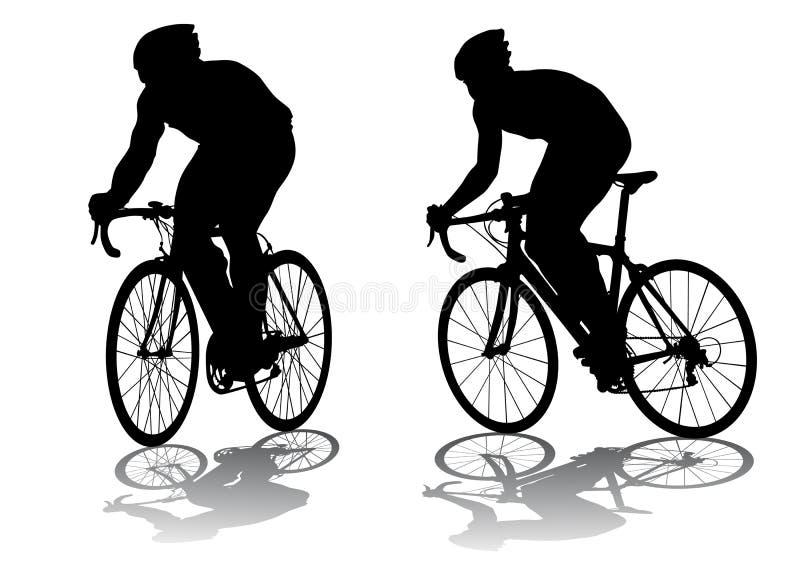 Download Ciclagem da competição ilustração do vetor. Ilustração de relaxation - 10054498