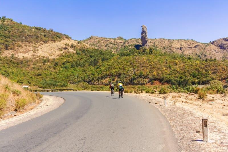 Ciclagem em Etiópia fotos de stock