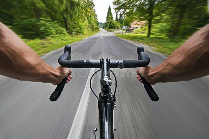 Ciclismo da estrada foto de stock royalty free
