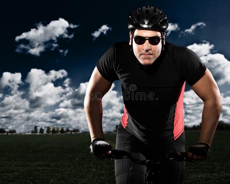 Ciclista imagens de stock