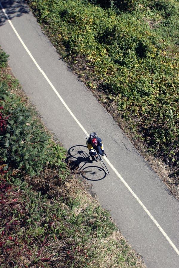 Ciclista imagem de stock royalty free