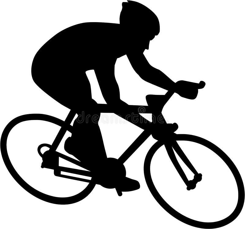 Ciclista de la bicicleta de la bici libre illustration