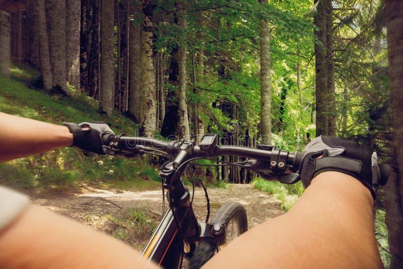 Download Ciclista en una bicicleta imagen de archivo. Imagen de viaje - 42426633