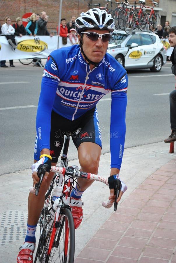 Ciclista italiano Matteo Tosatto fotos de stock