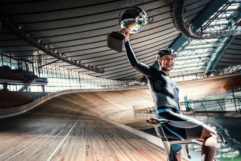 Ciclista novo imagens de stock royalty free