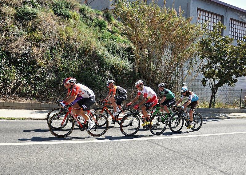 Ciclista Volta ένα Catalunya 2019 στοκ φωτογραφία