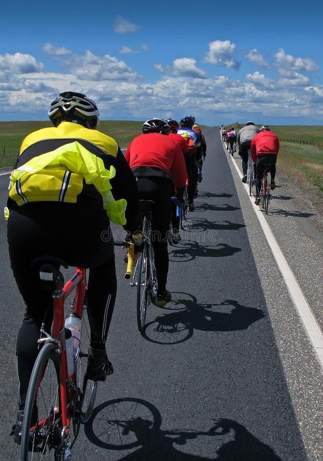 Ciclistas imágenes de archivo libres de regalías