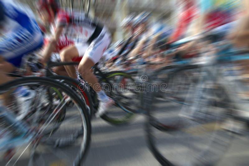 Ciclistas foto de archivo libre de regalías