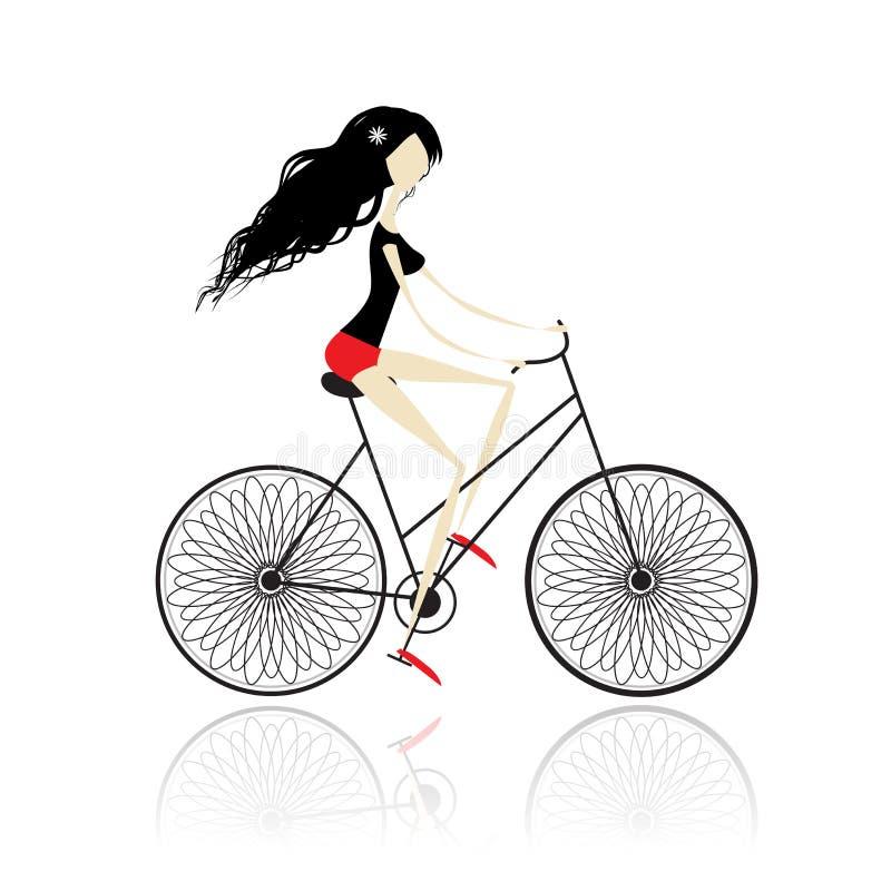 Ciclo de la muchacha libre illustration