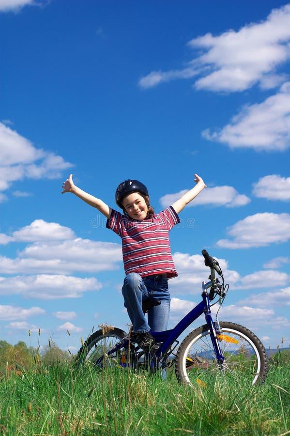 Ciclo De La Muchacha Imagen de archivo