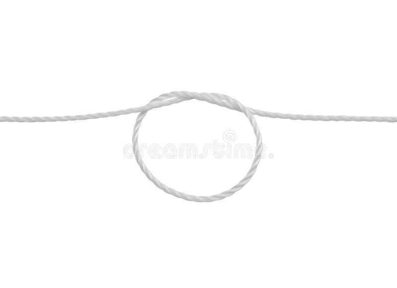 Ciclo della corda fotografia stock
