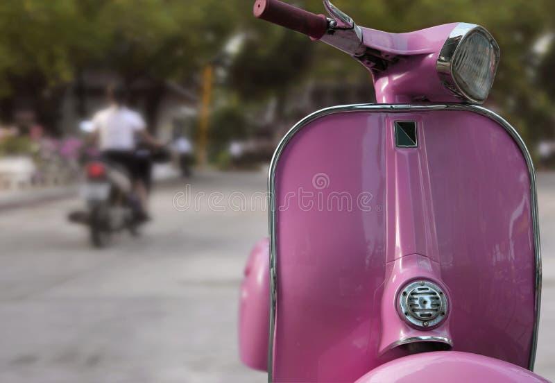 Ciclomotore fotografia stock libera da diritti