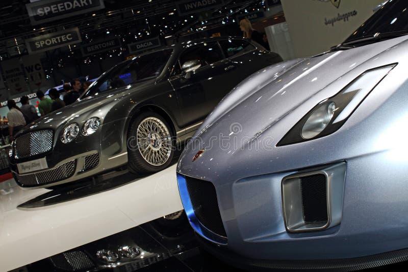 Ciclone 2011 di Gumpert del â di salone dell'automobile di Ginevra fotografie stock