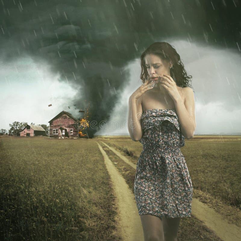 ciclone fotografia stock libera da diritti