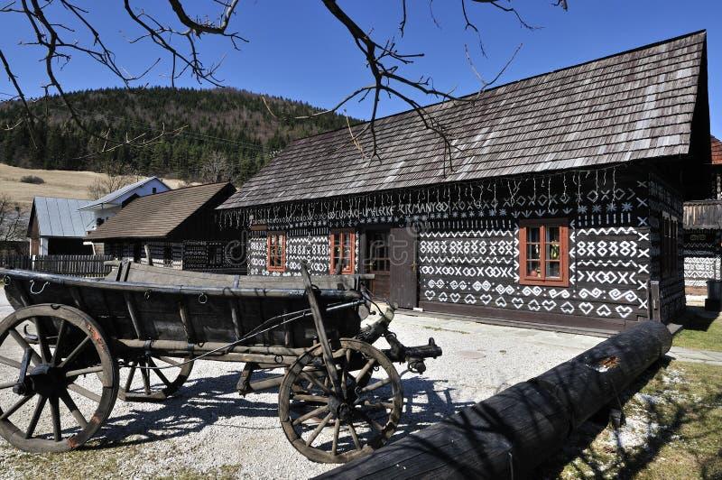 cicmany χωριό στοκ φωτογραφία με δικαίωμα ελεύθερης χρήσης