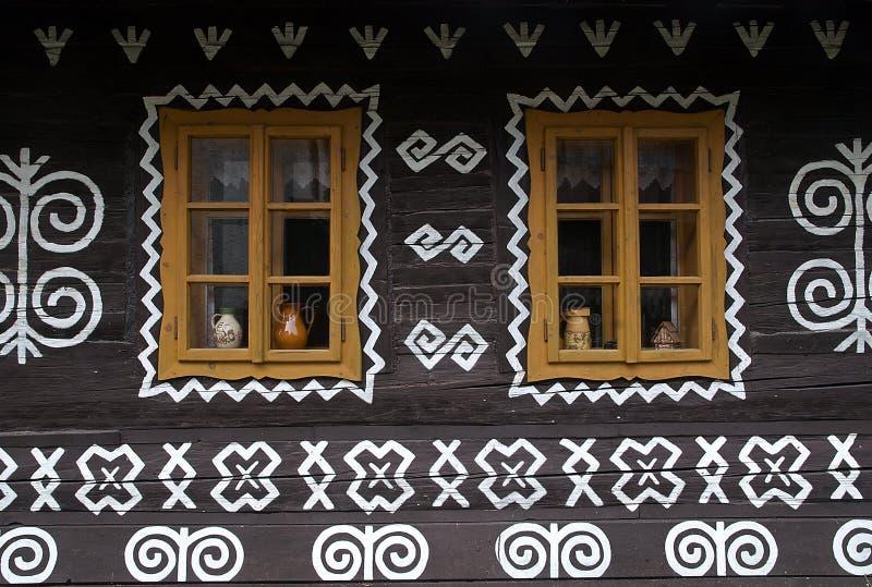 Cicmany, Slowakije royalty-vrije stock afbeeldingen