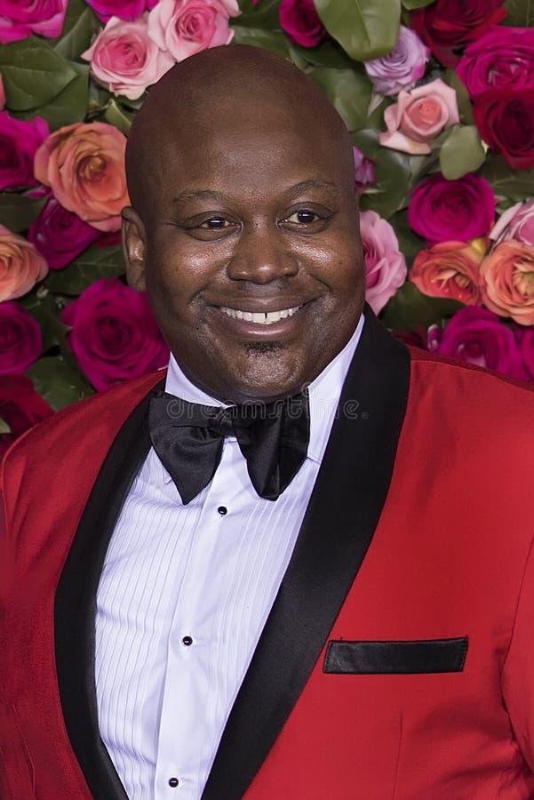 Cidadão de Tituss em Tony Awards 2018 imagem de stock
