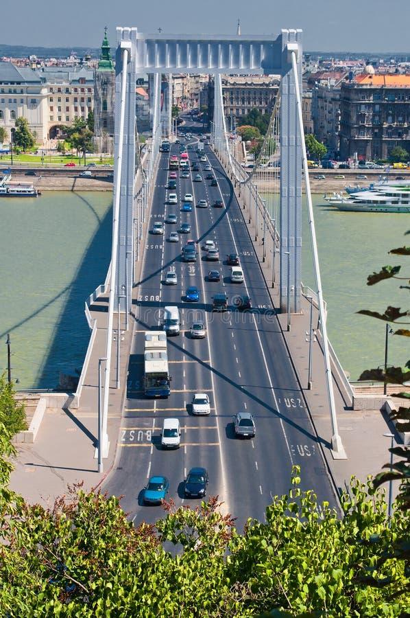 Cidade 2011 do verão de Budapest, lugar característico imagens de stock