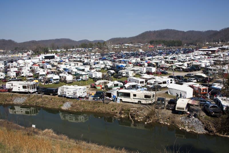 Cidade 500 do alimento da série do copo de NASCAR Sprint imagens de stock