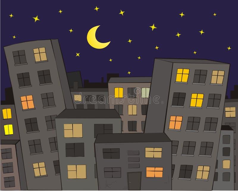A cidade ilustração stock