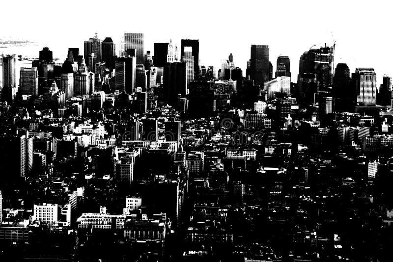 Cidade abstrata fotografia de stock royalty free