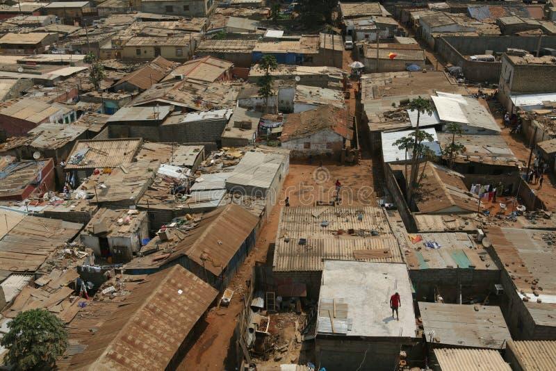 Cidade africana fotografia de stock royalty free