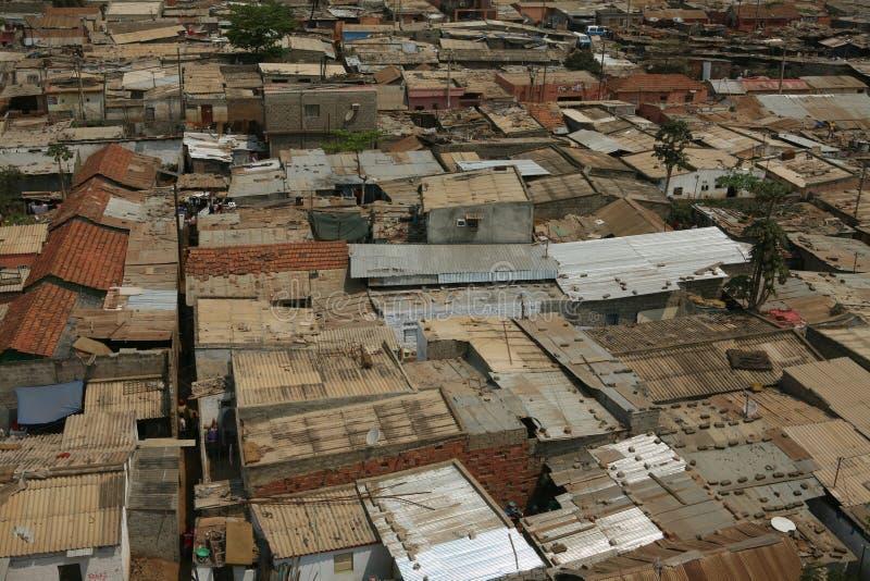 Cidade africana imagens de stock