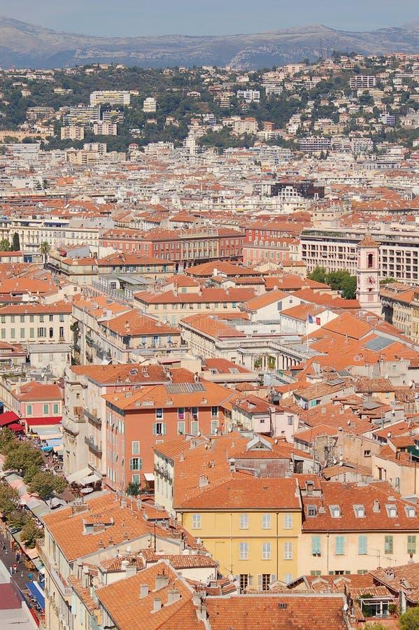 Cidade agradável, França foto de stock royalty free