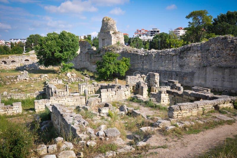 A cidade antiga das ruínas imagens de stock royalty free