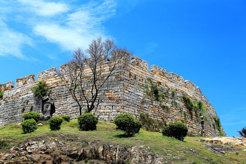 A cidade antiga de Chongwu foto de stock royalty free