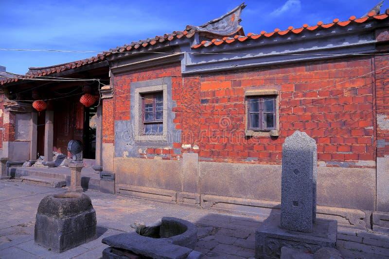 A cidade antiga de Chongwu fotos de stock royalty free