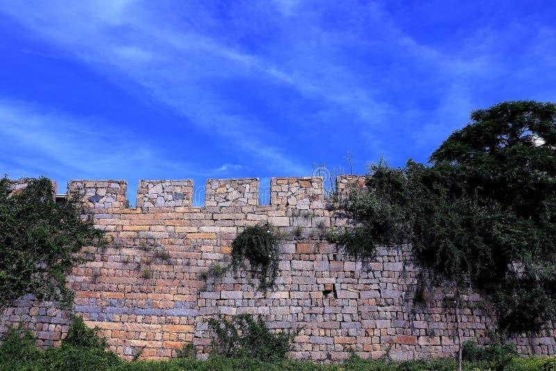 A cidade antiga de Chongwu fotografia de stock royalty free
