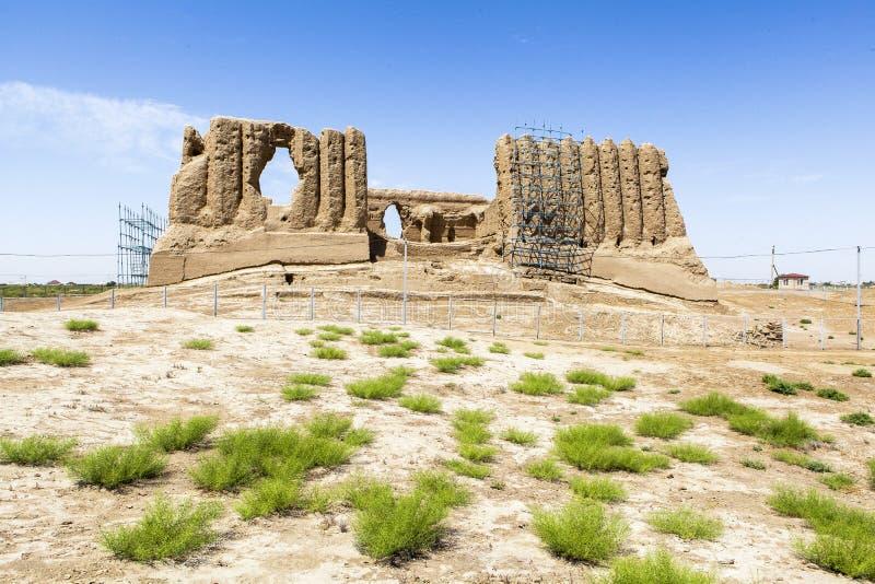 Cidade antiga de Merv em Turquemenistão imagem de stock royalty free