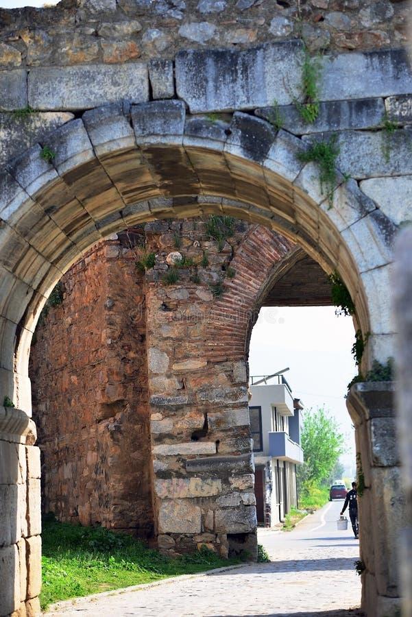 Cidade antiga de Nicea-Nicaia-Ä°znik fotografia de stock