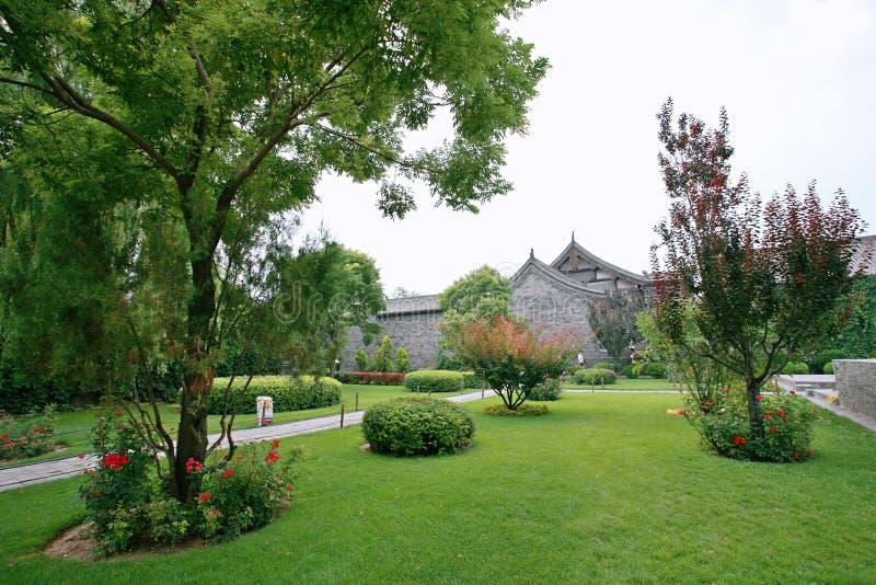 Cidade antiga de Pingyao foto de stock