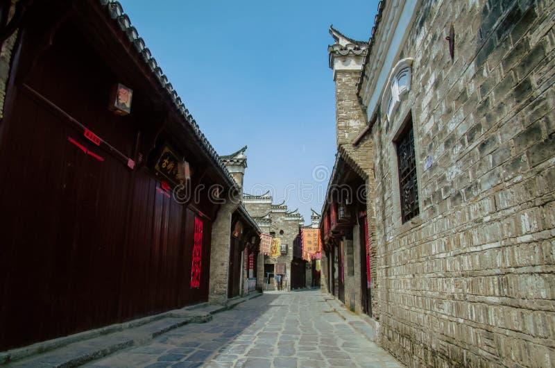 Cidade antiga de SanHe foto de stock