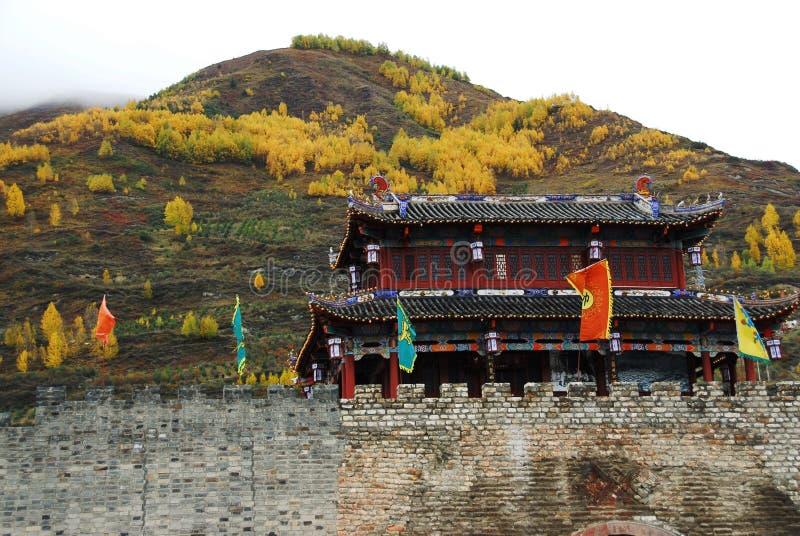 Cidade antiga de SongPan imagens de stock royalty free