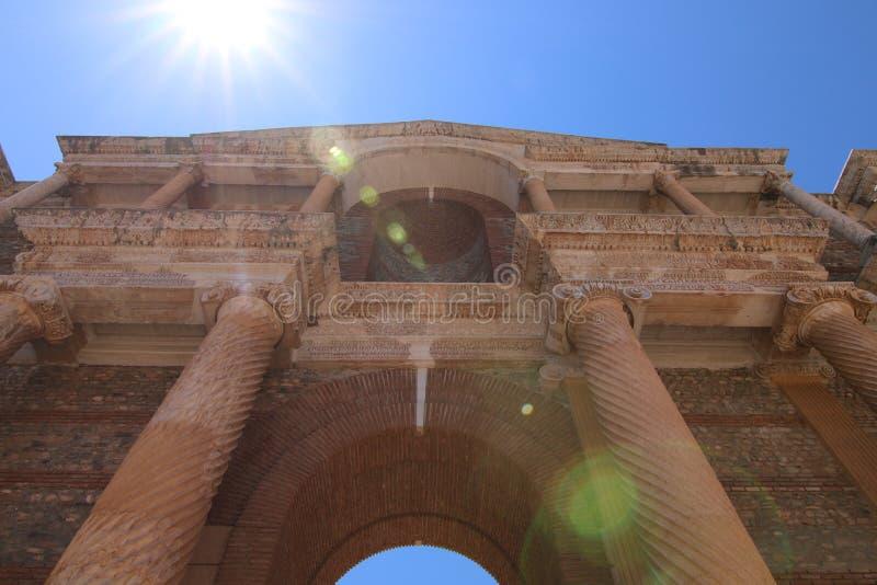 Cidade antiga histórica de Sardes imagens de stock royalty free