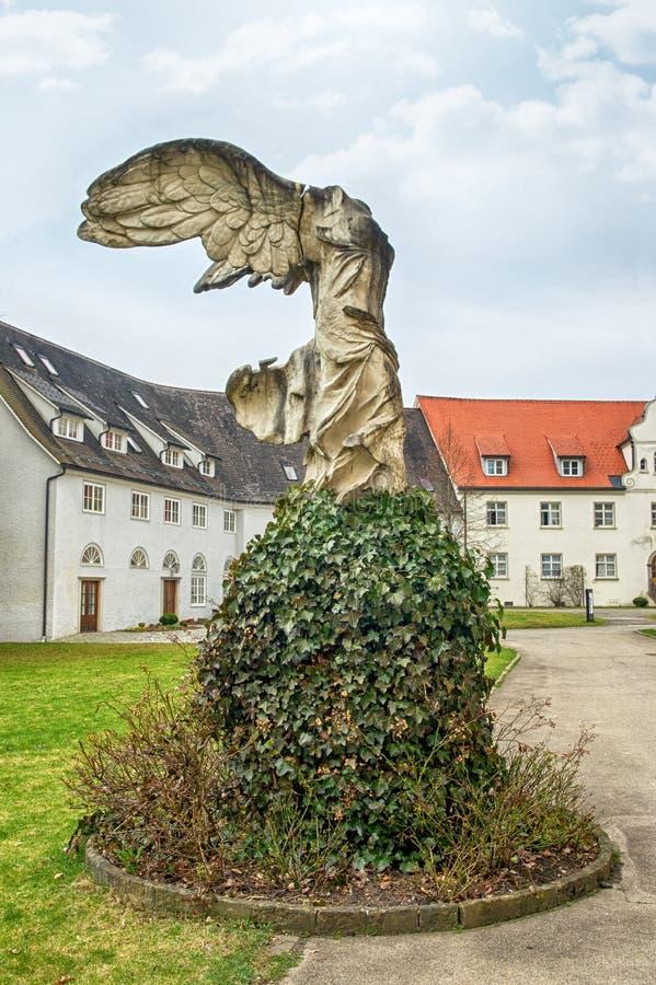 Cidade bávara Isny im Allgau fotos de stock