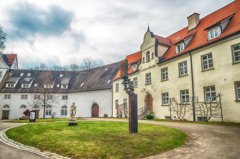 Cidade bávara Isny im Allgau fotografia de stock