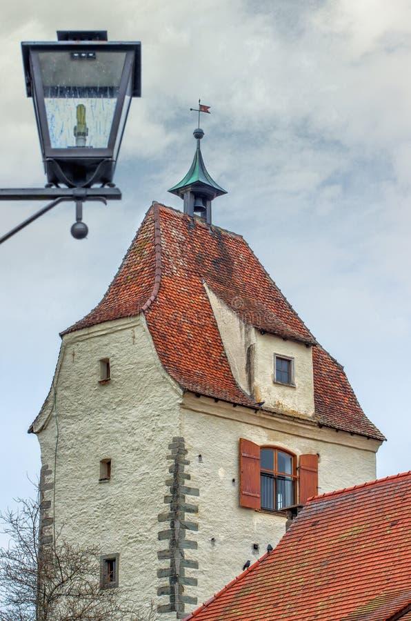 Cidade bávara Isny im Allgau imagem de stock royalty free